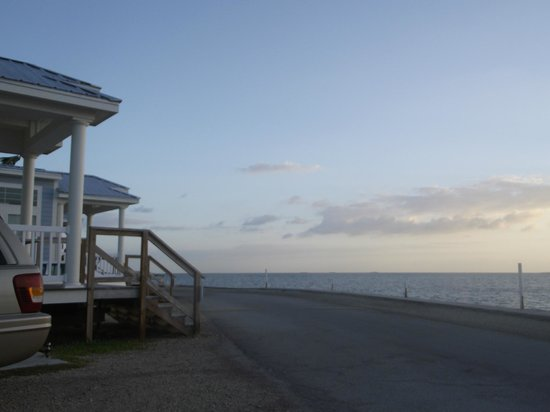 Fiesta Key RV Resort & Marina: An open view from the front porch