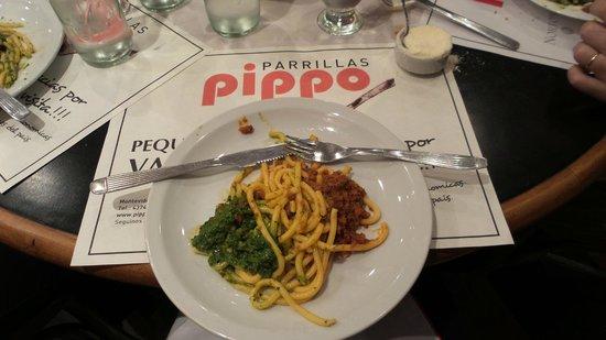 Pippo : Tradicional prato da casa. Muito bom!