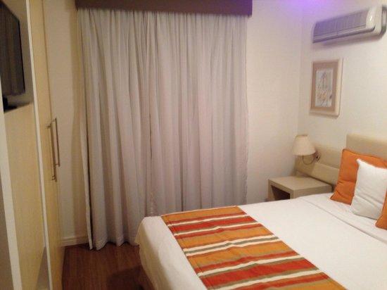 Hotel Mercure São Paulo Moema: Quarto