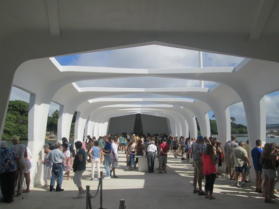 USS Arizona Memorial/World War II Valor in the Pacific National Monument: The Memorial