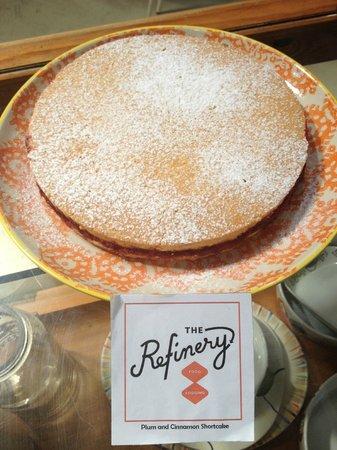 The Refinery: Plum Shortcake