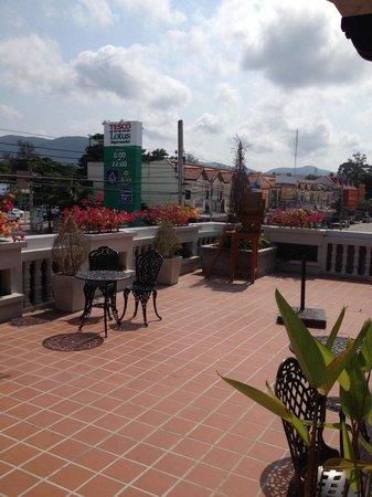 The 1 Boutique Hotel: Balkon