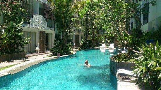 The Akmani Legian: ground floor pool