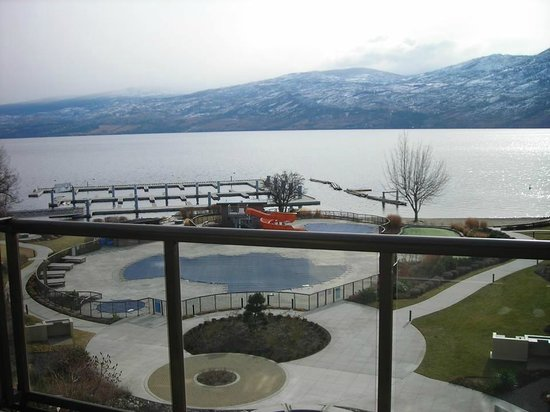 The Cove Lakeside Resort: View from our balcony