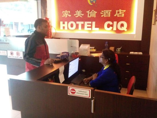 Hotel CIQ: indian hotel for indian people only