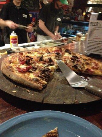 Secret Stash: Notorious F.I.G. pizza