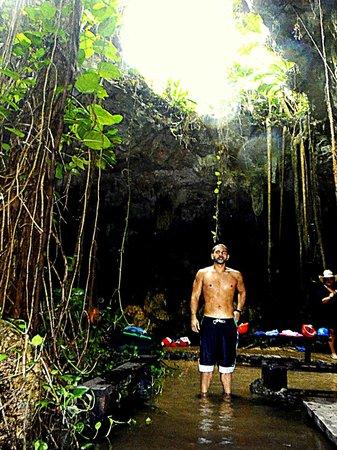Cenote Chaak Tun: Natural sunlight