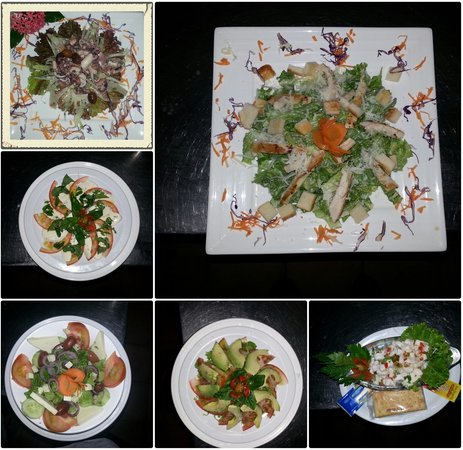 Restaurant Giada: Parte de nuestro menú de entradas.! Solo falta usted.