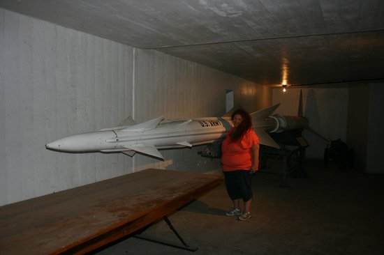 Fort McArthur Military Museum: Old Nike missile under ground once used to defend our shores