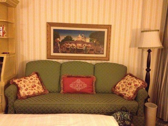 Disney's BoardWalk Inn : Sofa