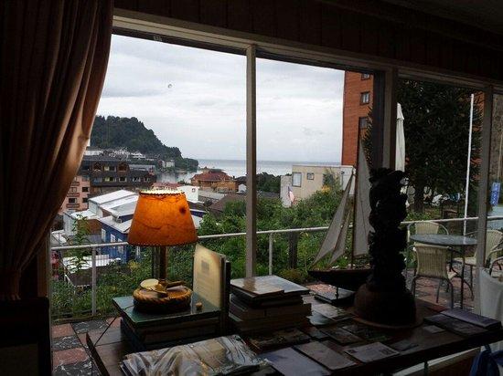 Hotel Boutique Ignacia Villoria: Linda vista de la ciudad y del lago