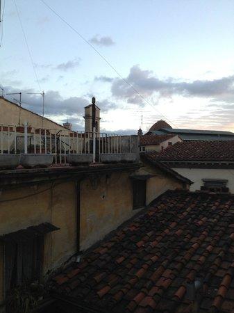 Hotel Kursaal Ausonia: Vista desde la habitación