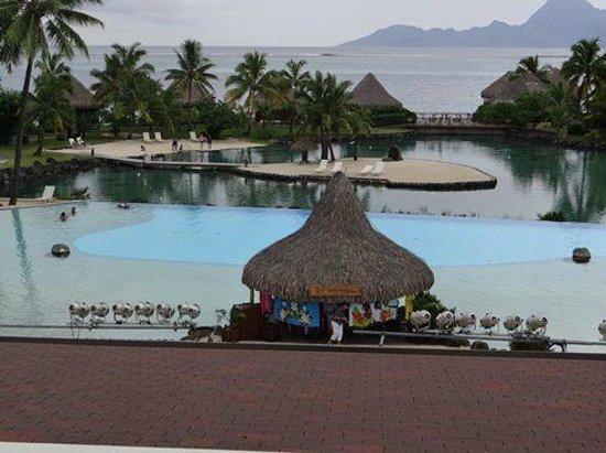 InterContinental Tahiti Resort & Spa: Lagoon Area