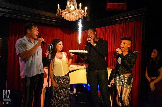 The Cabaret South Beach : Taraneh's birthday