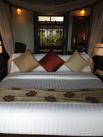 Nora Buri Resort & Spa : Bed