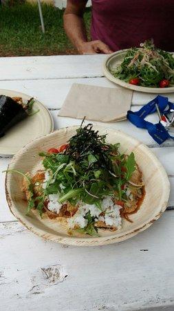 Federal DOMA Cafe: Free range chicken katsu-don