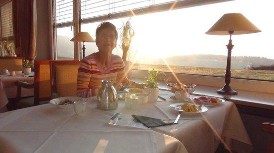 Hotel Saigerhoeh : Lever du soleil