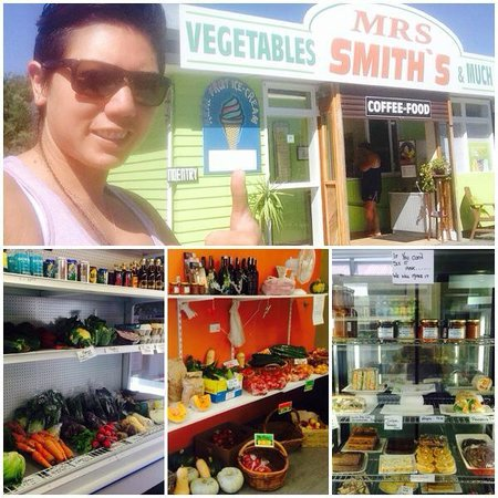 Mrs Smiths Cafe & vegetables: Daughter in Law with some pics of the produce we grow, make & sell