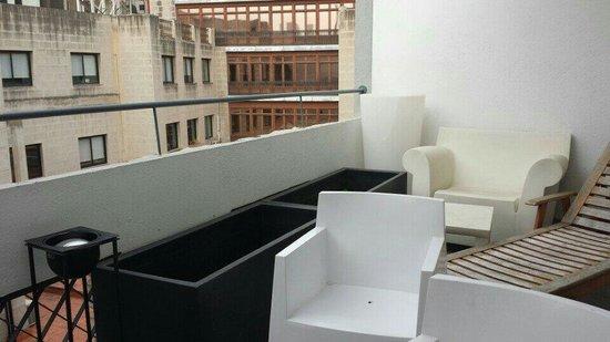 Hotel Denit Barcelona: Terrazzino della stanza 51.