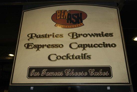 Benash Delicatessen : The deli