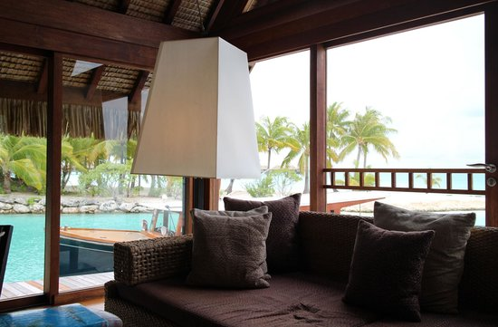 Four Seasons Resort Bora-Bora : レセプション