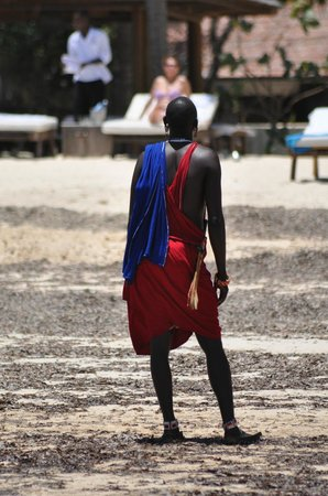 Luna House Malindi Maison d'hotes : un masai
