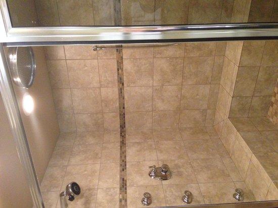 Grouse Mountain Lodge: Rain shower