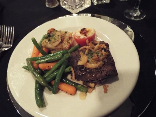 Flat Iron Steak Dinner Picture Of Hornblower Cruises