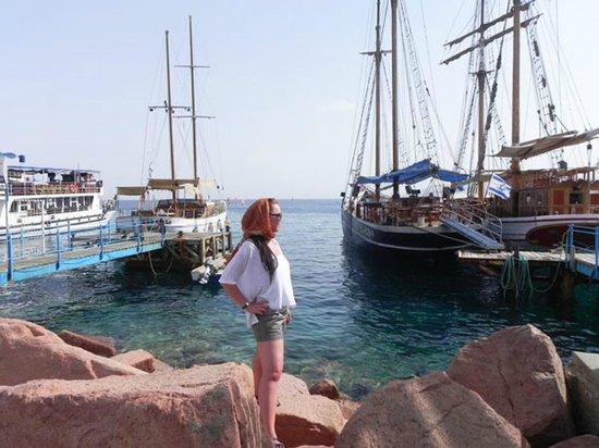 Hilton Eilat Queen of Sheba : Лагуна