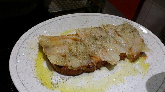 La Carboneria: Cod fish must try!