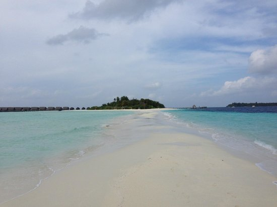 Cocoa Island by COMO : sandbank
