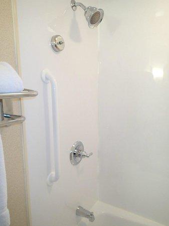 Holiday Inn Resort Lake George: View of bathroom shower