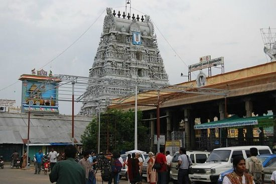 Image result for Image of Parthasarathy temple in Triplicane