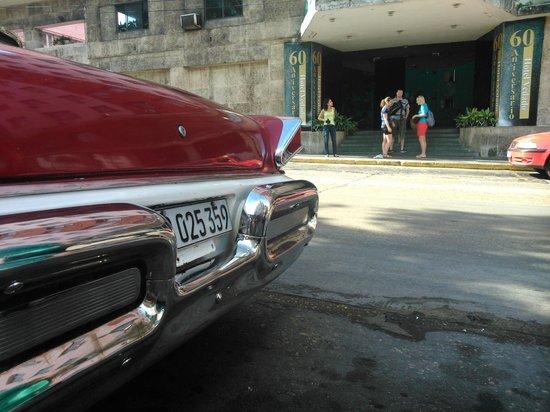 Hotel Vedado: напротив отеля