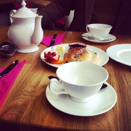The Hazelmere: super-tea-tastic and scone-ificatious.
