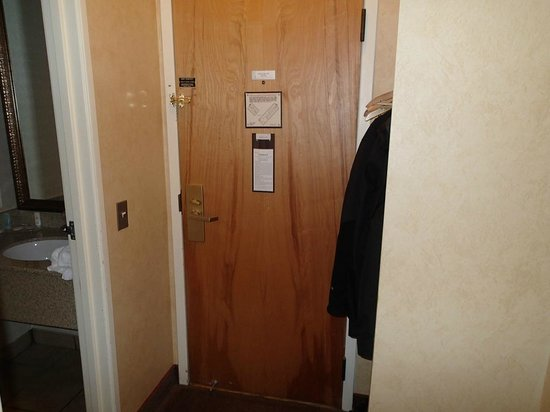 Comfort Inn Trolley Square: View of hotel room door