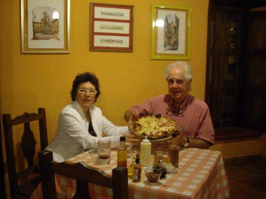 Cucina Italiana Il Piccolo: Con mia moglie