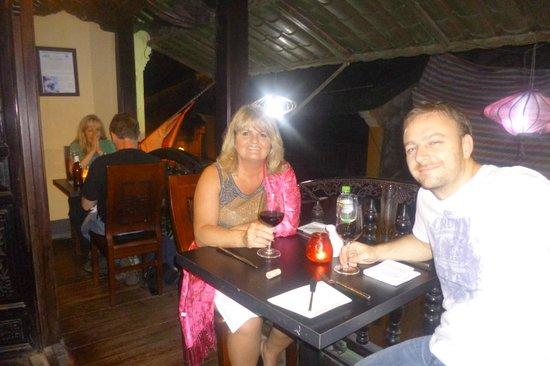 Green Mango Restaurant: great balcony seat