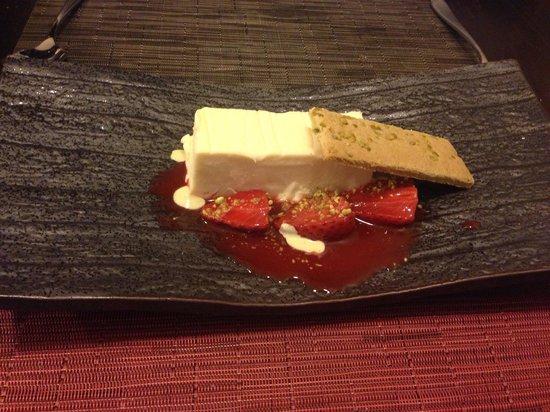 Dessert - Bavaroise at The Larder.