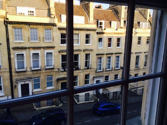 Queensberry Hotel : View from Room 12