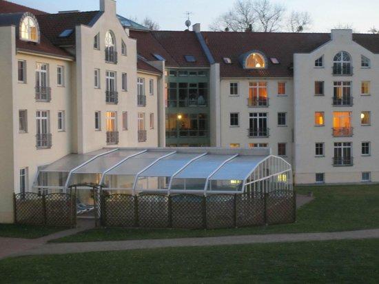 Golfclub Schloss Teschow: Pool + udsigt fra værelser