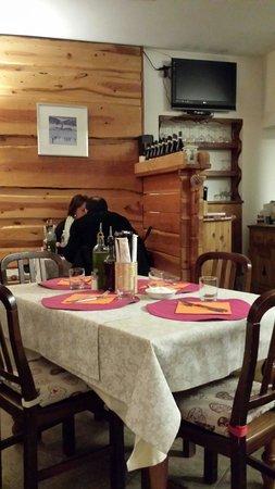 Il Vecchio Cambio: Uno dei tavoli