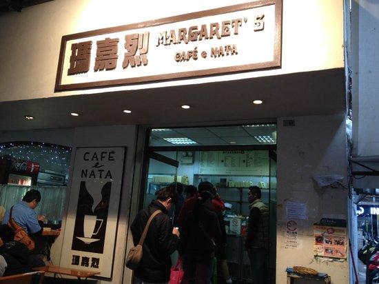 Margaret's Cafe e Nata: 並んでいることもあるが待ち時間は短い