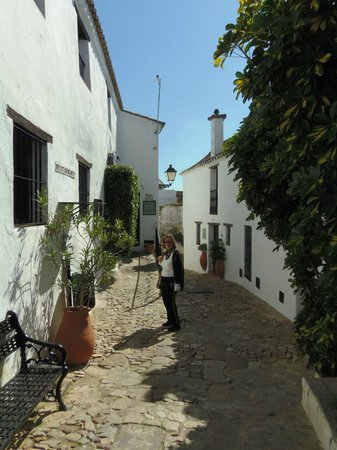 Complejo Turistico Castillo Castellar : Streets within the castle