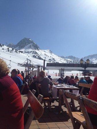Grau Roig Andorra Boutique Hotel & Spa : menudas vistas y que comida!