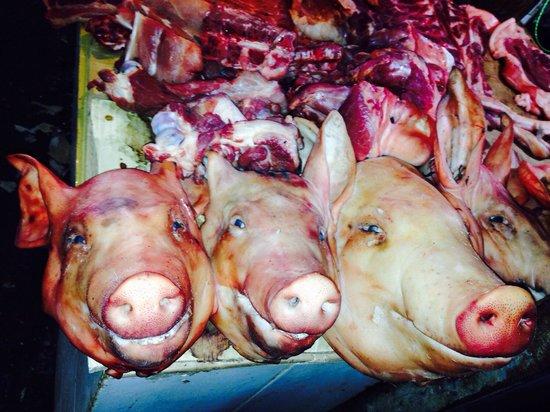 Central Market: Fresh pork