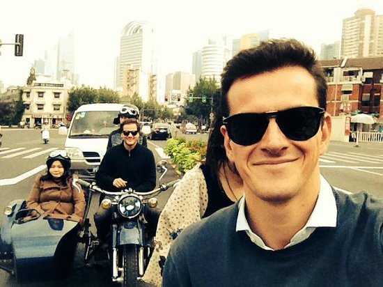 Insiders-Shanghai Private One-day Tour : riding with style