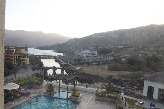 The Waterfront Shaw, Lavasa: View from our room