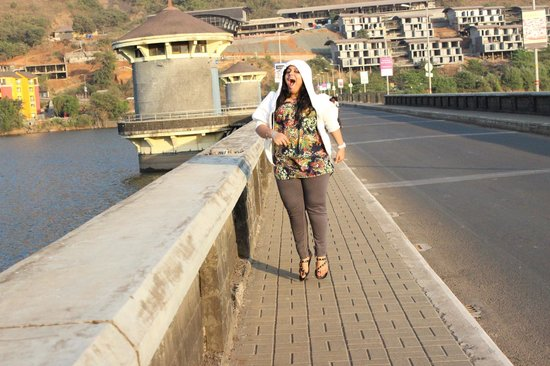 The Waterfront Shaw, Lavasa : The vview at the link road bridge