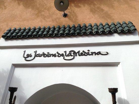 Les Jardins de la Medina: Voorgevel